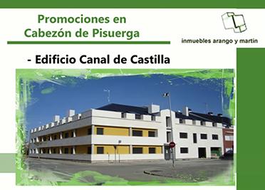 PROMOCIÓN EDIFICIO CANAL DE CASTILLA CABEZÓN