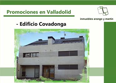 PROMOCIÓN EDIFICIO COVADONGA VALLADOLID